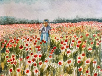 Among Poppies 2