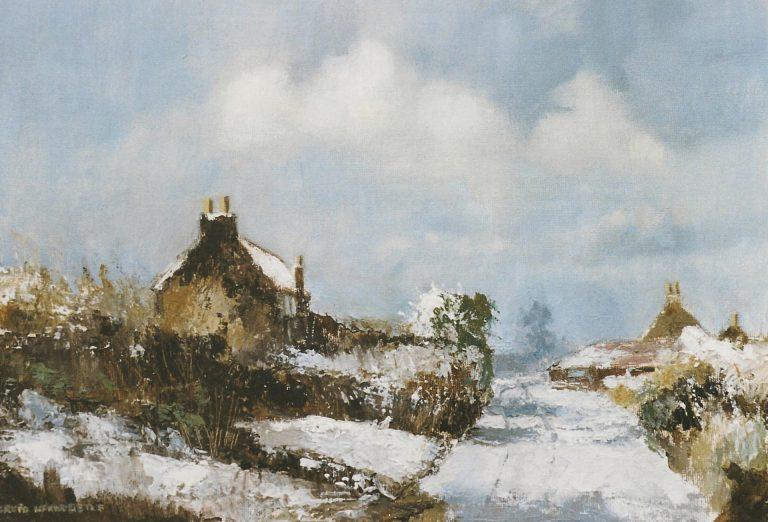 Damgate Lane in Snow