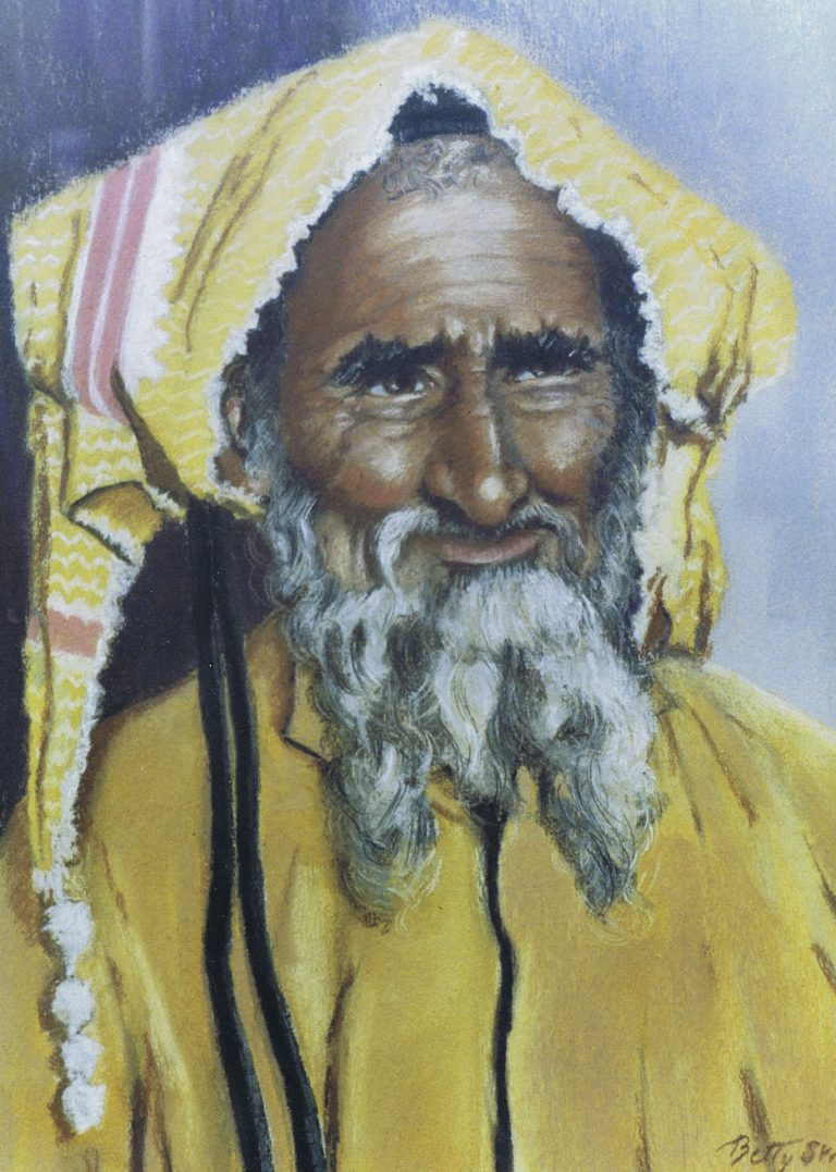 Dubai Arab Tribesman