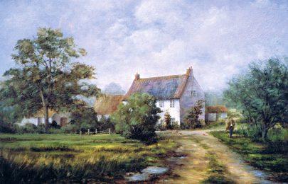 Farmhouse at Barsham