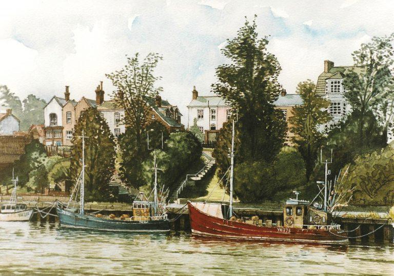Fishing Boats at Gorleston