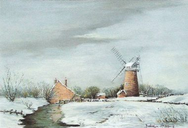 Stracey Arms Mill in Winter