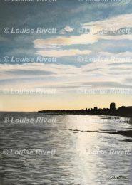 Sunset, La Rochelle