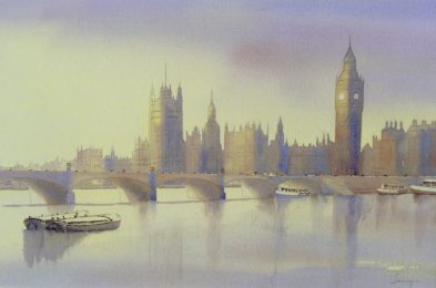 Twilight at Westminster
