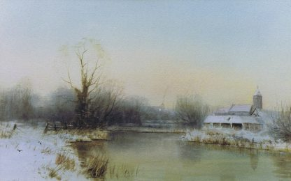 Winter at Bawburgh