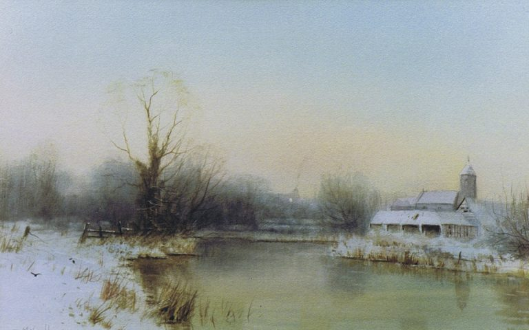 Winter at Bawburgh