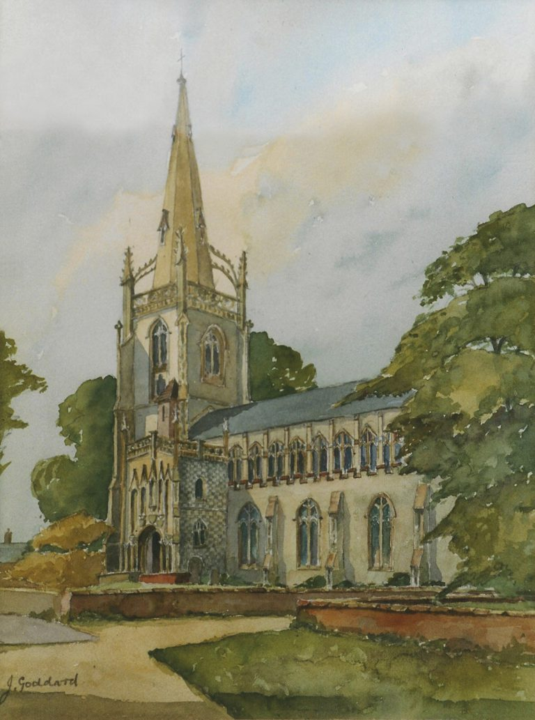 Woolpit Church Suffolk